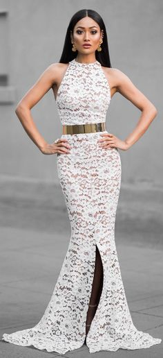 Amazing gown from @whiterunway /   Fashion Look by Micah Gianneli