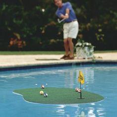 Aqua-Golf - a challe