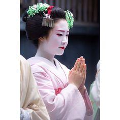 芸妓さんと舞妓さんのブログ (June 2015: maiko Shouko at the Gion Hojoe festival...)