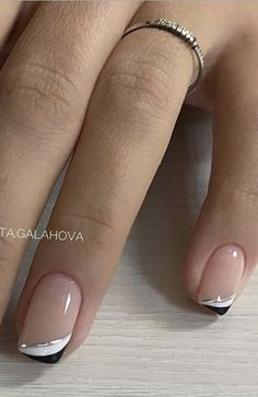 Cute Gel Nails, Chic Nails, Fancy Nails, Stylish Nails, Trendy Nails, Toe Nails, French Manicure Acrylic Nails, Cute Acrylic Nails, Nail Manicure