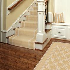 Stanton Carpet Coastline color Sundial Stair Runner