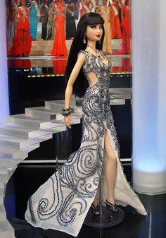 ๑Miss Taiwan 2013' Barbie Miss, Barbie And Ken, Barbie Dolls, Broken Doll, Miss Usa, Doll Costume, Doll Face, Pageant, Pretty Woman