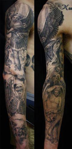 40 Best Amazing Heaven Tattoos Images Nice Tattoos Tatoos