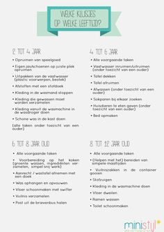Household cleaning schedule for children - Schoonmaakschema's - Education Ikea Kids, Diy Tv, Sight Words, Crafts To Make And Sell, Diy And Crafts, Google Drive, Excel Tips, Excel Formulas, Baby News