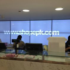 Digital Signage VideoWall at EPK stores in Caracas, Venezuela by @IMVINET