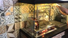 Outdoor Bbq Kitchen, Outdoor Oven, Backyard Kitchen, Outdoor Kitchen Design, Outdoor Cooking, Bbq Grill Diy, Barbeque Design, Grill Design, Custom Bbq Pits
