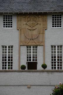Charles Rennie Mackintosh, House for an Art Lover façade, Glasgow