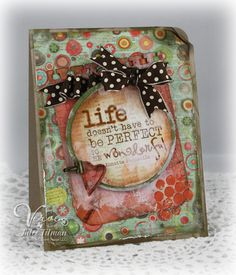 """love this """"art journal"""" page...esp. the verse."""