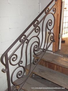 wrought iron railings | Custom Wrought Iron Railings: