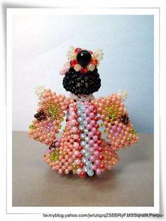 相簿封存 Beaded Angels, Crochet Earrings, Projects To Try, Album, Beads, Floral, Flowers, Archive, Beading Ideas
