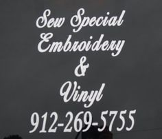 Vinyl Decal for Car to Advertise your Business by sewspecialonline, $15.00 http://www.tuberads.com