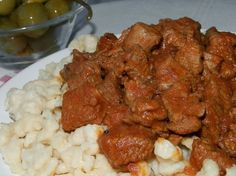 Beef, Meals, Cooking, Ethnic Recipes, Cook Books, Food, Red Peppers, Meat, Cucina