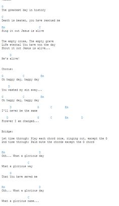 Happy Day Chords