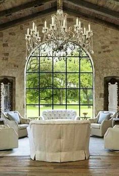 Huge beautiful window farmhouse style