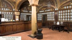 #Farmacie storiche in Italia: Farmacia Santa Maria della Scaletta (Imola)