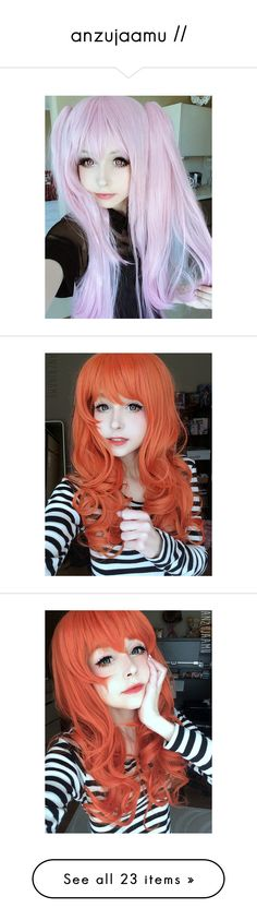 """anzujaamu //"" by rosewhocouldfly ❤ liked on Polyvore featuring kawaii"