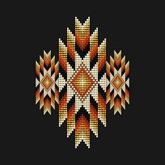 Check out this awesome 'Golden+Orange+Native+American+Style+Sunburst' design on - Para Sahibi