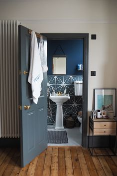 The next stage in our renovation, we present to you our 'ensuite'... Add A Bathroom, Bedroom With Ensuite, Bathroom Wall, Bathroom Ideas, The Frugality, Topps Tiles, Tile Trim, Loft Room, Temporary Wall