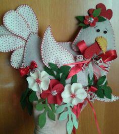 Gallina e fiori - Luisa Valent