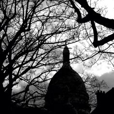 Montmartre en noir - Paris
