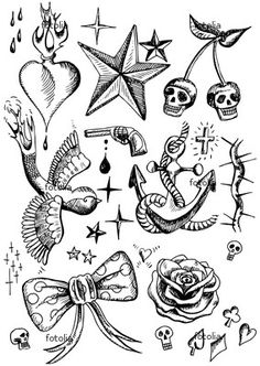 tattoo flash #piel #shoppiel #inspiration