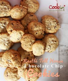 Nestlé Toll House Chocolate Chip Cookies Chocolate Chip Cookies, American Cookie, Toll House, Cookie Recipes, Chips, Treats, Cooking, Breakfast, Desserts