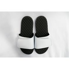 Mens Faux Leather Open Toe Slip On Sports Lightweight Beach Poolside Surf Flip Flops Sliders Summer Sandals Size 7-12