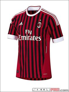 adidas Youth AC Milan Home Jersey 2011...$43.99