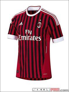 adidas AC Milan Home Jersey - 2011-2012...$59.99
