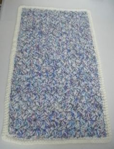 #Crocheted Reversable #Dog or #Cat #Rug #Mat  For Small-Medium Sized #Pets  http://r.ebay.com/WPeJyD #eBay #like2 #bizitalk #shopping