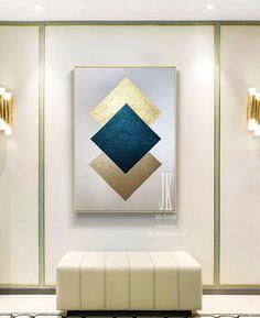 Minimalist Wall ArtGeometric Abstract Canvas ArtTexture | Etsy