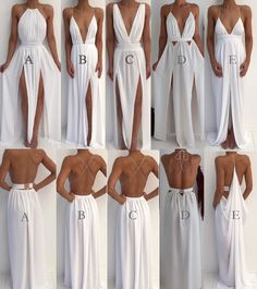Sexy 5 Styles White Prom Dresses Party Gowns for women Evening Party Gowns from . - Sexy 5 Styles White Prom Dresses Party Gowns for women Evening Party Gowns from loverlovebridal Source by didijodh - Sexy Party Dress, Prom Party Dresses, Sexy Dresses, Fashion Dresses, Bridesmaid Dresses, Formal Dresses, White Long Prom Dresses, Infinity Dress Bridesmaid, Backless Dresses