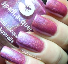 Lilypad Lacquer Blooming Violets - Swatches and Review | Pointless Cafe