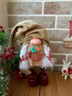 Tomte Gnomes Woodland Gnomes Forest Gnome Holiday Gnome Spring Gift Holiday Decoration Nordic Gnome Scandinavian Home Gnome Garden Tomte by DoMiDolls on Etsy Etsy Christmas, Christmas Gnome, Xmas Elf, Christmas Stockings, Funny Gnomes, Fairy Furniture, Resin Furniture, Holiday Crafts, Holiday Decor