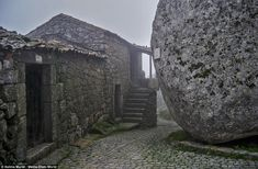 "Medieval Portugal village built in 200-tonne boulders | Via Daily Mail | 4/11/2014 ""They've been living under a rock! The stunning medieval Portugal village build in and around gigantic 200-tonne BOULDERS #Portugal"