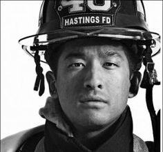 Location Assignment: Firehouse Portraits. New York photographer Ian Spanier shot the images for this lesson at the Riverview Manor Firehouse in Hastings-on-Hudson, New York using members of Engine 46 as his models. These portraits - shot in color and converted to black & white - capture the rawness and grit of the subjects. click here to read more: http://www.photographytalk.com/photography-articles/2505-location-assignment-firehouse-portraits