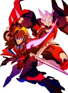 Drift and Windblade by Blink2.deviantart.com on @deviantART