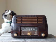 Antique Radio GE Bakelite Radio Vintage Radio by AveryandAllen, $62.00