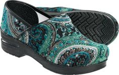 Paisley Dankso - I am a totaly Dansko junkie now... Who knew a clog could be so friggin' comfortable?!!!