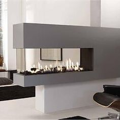 three sided gas fireplace   SALE! Napoleon 3-sided See-Through Gas ...