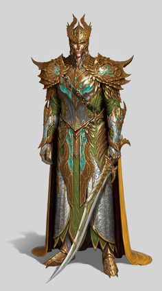 m High Elf Fighter noble Plate Armor Helm Cloak Sword Community Mountain Conifer Forest Underdark Elf Characters, Dungeons And Dragons Characters, Fantasy Characters, Fantasy Armor, Medieval Fantasy, Dark Fantasy, Fantasy Character Design, Character Art, Character Concept
