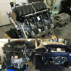 """Thanks to @steve_lazarevski From #TessAuto for sharing this update on the #Porsche #LSswap they're working on: """"Big fan of the store. Bought a lot of specialty fittings and gauges that no one else had from you guys ... I sent a customer at the shop over when he decided to LS swap his Porsche 911. He ordered the #LS3 #CrateMotor from you guys along with a bunch of smaller items here and there. Thought you may be interested in the progress to date. Car's almost ready!"""" Looking good Steve…"""