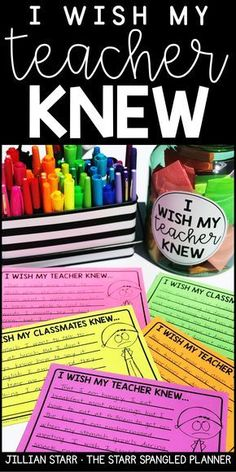 This is my favorite strategy to build community, address social-emotional needs in my classroom, as well as support build routines that support communication. I wish my teacher knew is a powerful classroom management tool, as well as a wonderful way to g First Day Of School Activities, 1st Day Of School, Beginning Of The School Year, 4th Grade Activities, Back To School Art, Fun Classroom Activities, Writing Activities, School Fun, Sunday School
