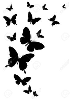 Related image Silhouette butterfly Butterfly clip art Butterfly stencil