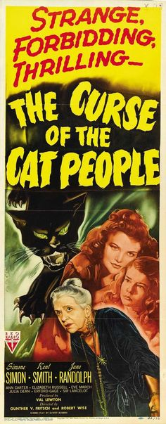 Cool Movie posters: 1944 film directed by Gunther von Fritsch and Robert Wise, and produced by Val... OLD MOVIES Check more at http://kinoman.top/pin/37098/