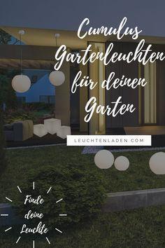 Die schöne moderne Terrassenleuchte CUMULUS ist eine gute Beleuchtung für fast jeden Außenbereich. Bei uns finden Sie diese schöne Garten-Dekoleuchte in verschiedenen Ausführungen. Ob Sie nun eine Kugel oder ein Würfel für den Boden suchen oder vielleicht doch eine Kugel zum hinhängen, hier werden sie bestimmt fündig. Kugel, Patio, Lighting, Boden, Nice Asses
