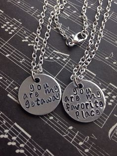 5 Seconds Of Summer Couples/Best Friends Necklace Set