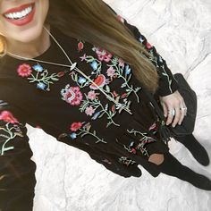 Floral swing dress!