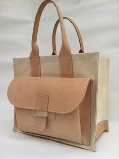 Agnes Baddoo  Sac 1 / Canvas & Natural Cow