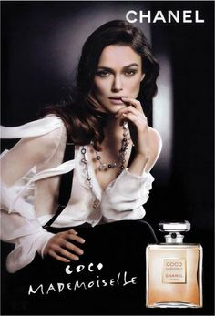 Keira Knightley Chanel Print Advertisement Campaign
